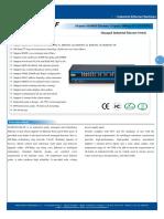 IT ES5024 IM 8F Datasheet - INDUSTRIAL ETHERNET MANAGED SWITCHES
