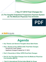 Outpatient Prospective Payment System Rule for 2019