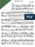 Scarlatti Sonate Per Pianoforte (122)