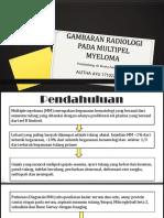 Ppt Referat Gambaran Radiologi Pada Multiple Myeloma