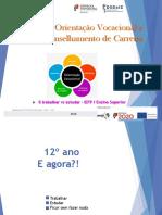 Orientação Vocacional 12º Ano - AELO.2ªsessão