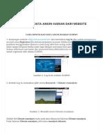 Cara Download Data Angin Harian Dari Website Ecmwf