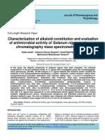 Alkaloid Kelompok