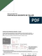 Instructivo_formato Portafolio Docente de Taller