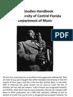 Jazz Studies Handbook v16
