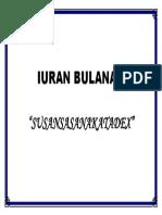 IURAN BULANAN 2
