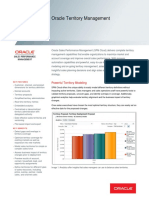 Oracle Territory Management Ds