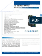 It Es618 Im 4d Rs 485 p 12 48vdc Datasheet - INDUSTRIAL ETHERNET MANAGED SWITCHES