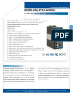 It Es618 Im 4f 4d Rs 232 p 12 48vdc Datasheet - INDUSTRIAL ETHERNET MANAGED SWITCHES