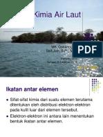 fisika kimia air laut