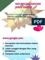 7 Kelebihan Macam-macam Search Engine