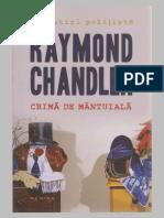 Raymond Chandler - Crimă de mântuială.pdf