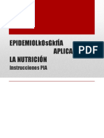 PIA Epidemio
