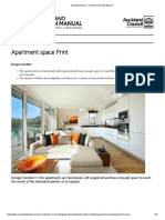 Apartment Space - Auckland Design Manual