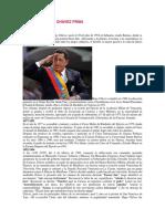 Biografía Hugo Chávez Frías
