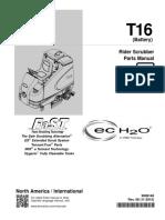 Parts Manual - Carro de Limpeza Tennant