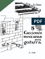 8 canciones mexicanas..pdf