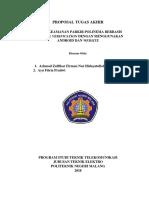 Format Penulisan Proposal Tugas Akhir 2018-2019