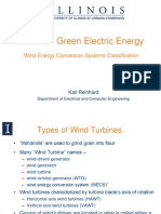 Wind Energy Systems Classifications