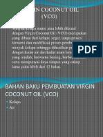 PRESENTASI COCONUT OIL