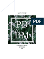 JOB DESK PDDM