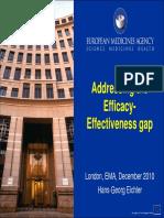Efficacy Effectivenes