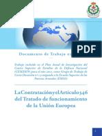 EStudio Articulo 346 Tratado UE
