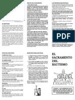 Panfleto Bautismo - General