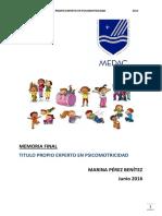 Proyecto Psicomotricidad Vivencial