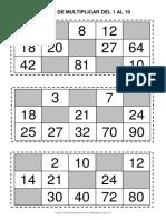 Targetas de Bingo
