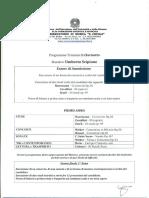 Triennio Programma Di Studio e Di Ammissione Clarinetto Docente Scipione