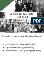 Clase (1930-1945) Los años 30