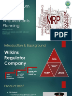 Final MRP Wilkins Case Study