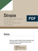 Ektropion