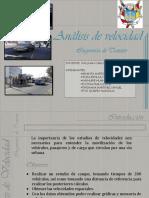 Estudio de velocidades norma peruana