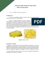 Prática Laboratorial Para Análise Do Índice de Acidez Do Breu
