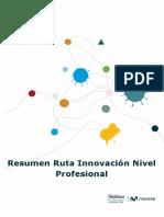 Resumen Ruta Innovación Nivel Profesional Abp