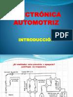 ELECTRÓNICA AUTOMOTRIZ. INTRODUCCIÓN.