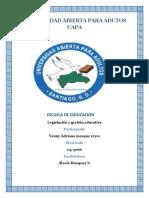 Legislacion y Gestion Educativa Unidad 5