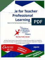 teacher professional growth plan final