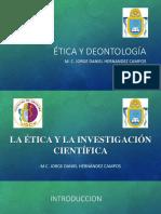 Ética y Deontologia Clase 13