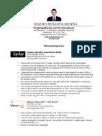 Résumé Organizational Communications