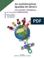 Sevilla Pavón, A.; Haba Osca, J. (Coords.). (2017). Educación multidisciplinar para la igualdad de género