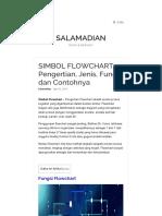 SIMBOL FLOWCHART _ Pengertian, Jenis, Fungsi Dan Contohnya _ Sa