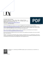Sociology of Everyday Life Adler Fontana