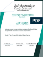 Certificte 1