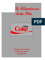 diet coke media plan