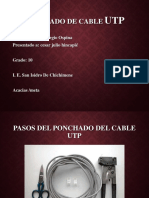 Ponchado Cable Utp