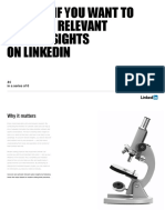Read Me if You Want to Uncover Relevant Sales Insights on Linkedin