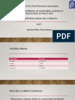 Hidrometalurgia Del Cobalto